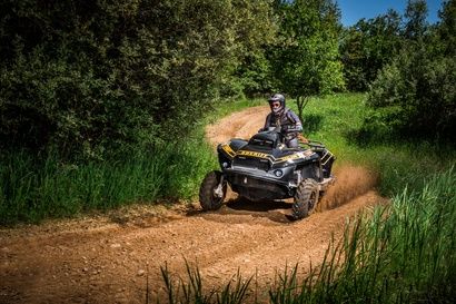 Quadski Patrol technical